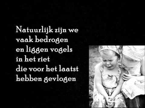 Herman van Veen, een vriend zien huilen kan ik niet.