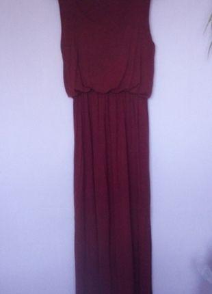 Kup mój przedmiot na #vintedpl http://www.vinted.pl/damska-odziez/dlugie-sukienki/14006359-bordowa-sukienka-maxi-boohoo-l