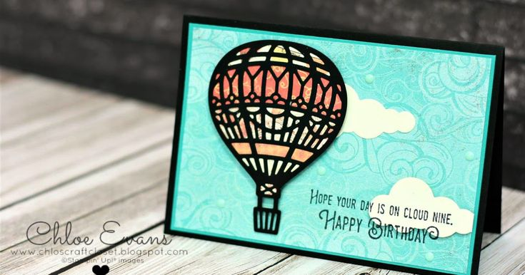 Welcome back to day 2 of my share-fest. Today I'm sharing samples using the Lift Me Up stamp set and the matching framelits but only one of ...