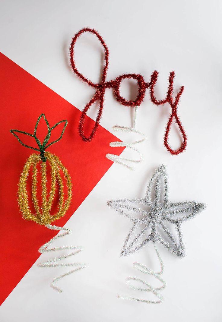 DIY Christmas Tree Toppers