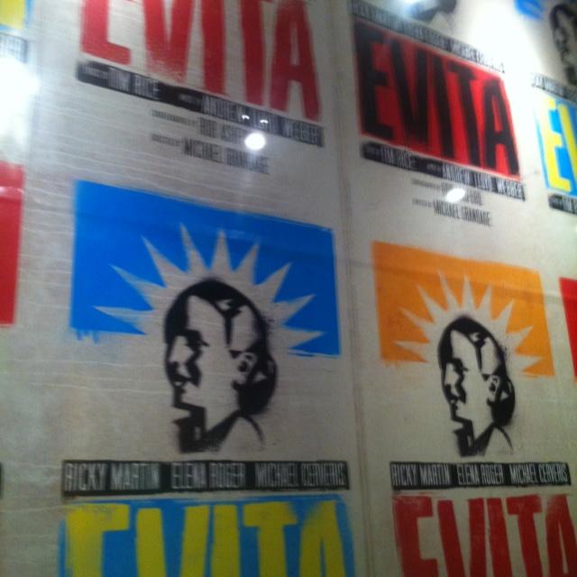 Evita - Times Square NY