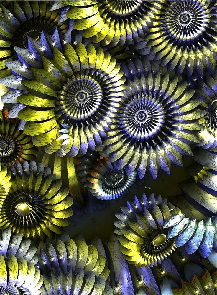 mb3d 2041-in the world of ammonites by Mariagat.deviantart.com on @DeviantArt