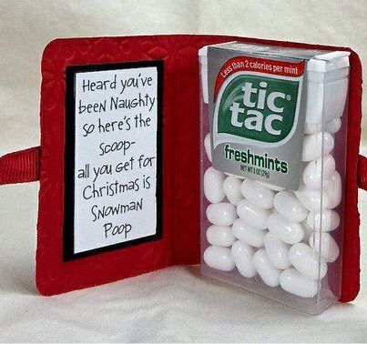 Cheap but cute Christmas gift idea.