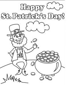 30 best St Patrick's Day Coloring Pages images on