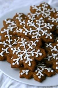 Pretty gingerbread stars