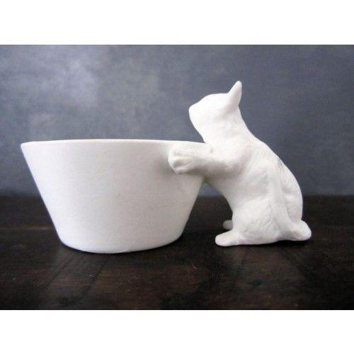 Standing Kitten Bowl