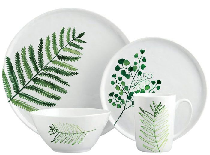 Margaret Berg Art : Illustration : dinnerware