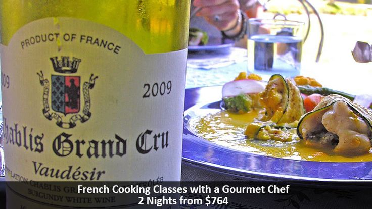 French Cooking Classes with a Gourmet Chef - https://traveloni.com/vacation-deals/french-cooking-classes-gourmet-chef/ #europeanvacation #culinaryvacation #frenchcooking
