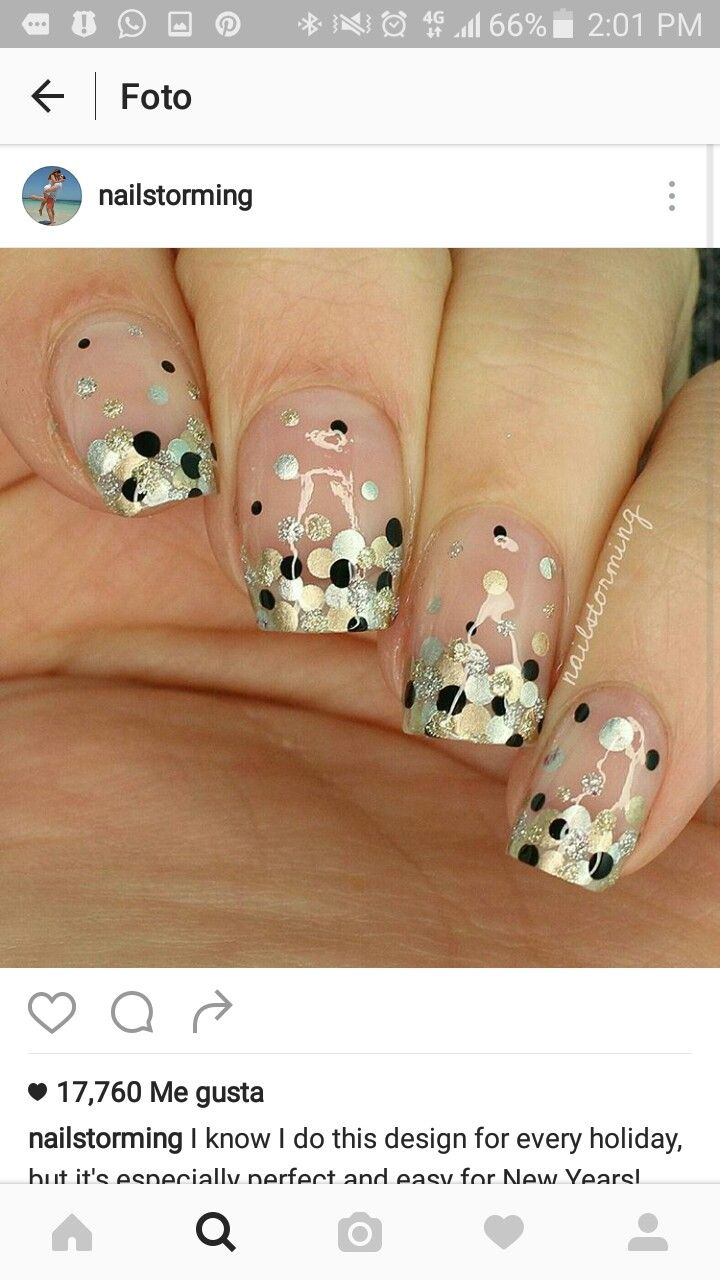 48 best New year Nails images on Pinterest | Manicures, Nail salons ...