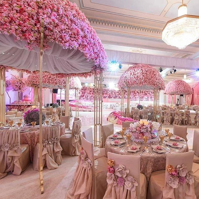 Gleeful for this pinkspiration design with @nasheedevents! Love these table canopies and chair covers. #pinkwedding #indoorwedding #tentwedding #weddingceremony #weddingflowers #chair #weddingchairs #weddinginspiration #bridalinspo #weddingplanning #weddi