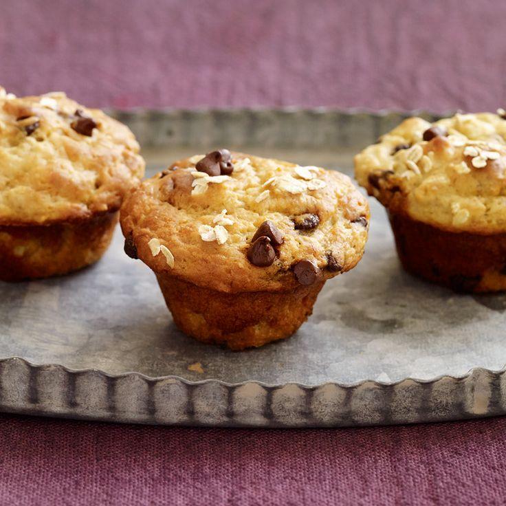 Mini-muffins aux bananes et aux pépites de chocolat   Weight Watchers Canada