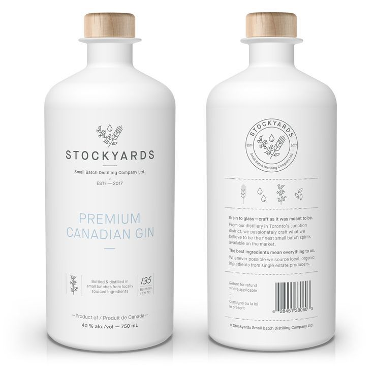 Stockyards Small Batch Distilling Co Beverage Packaging Bottle