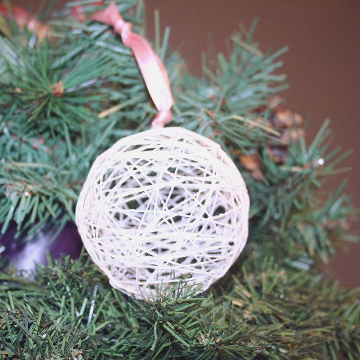 Image result for starched string christmas ornament