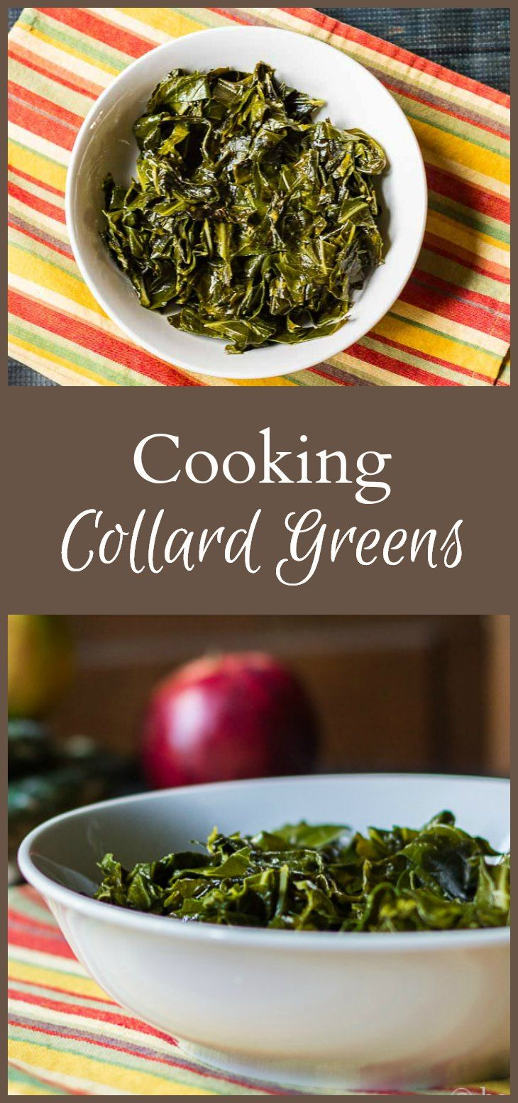 Cooking collard greens is different than greens like spinach and chard. However their nutritional value and unique taste, is worth the wait.