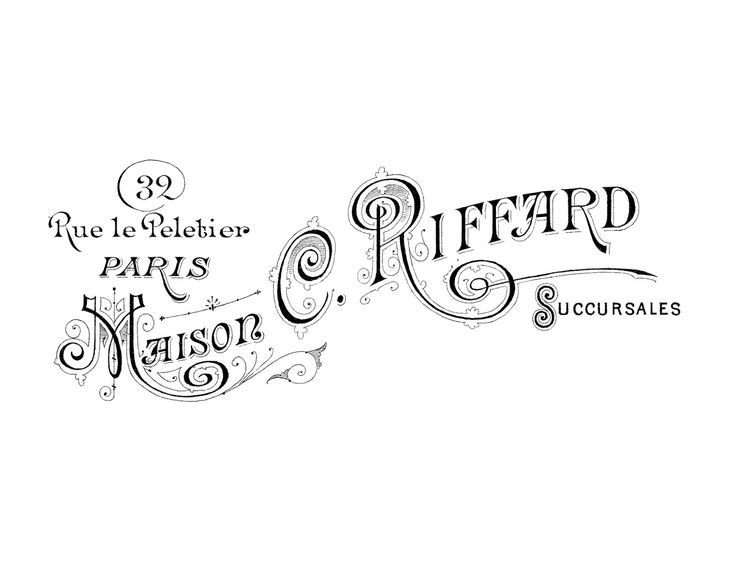 French Transfer Printable - Paris Maison - The Graphics Fairy  -- to use on dresser, pillow, screen...