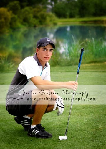 golf photo for yearbook ideas