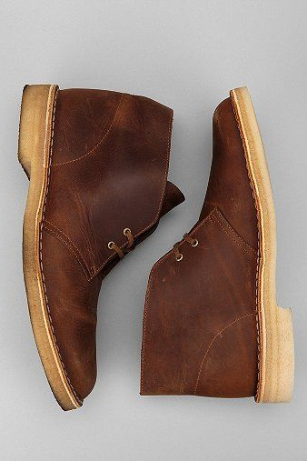 Clarks Waxed Desert Boot