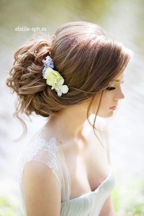 свадебные прически на длинные волосы без фаты