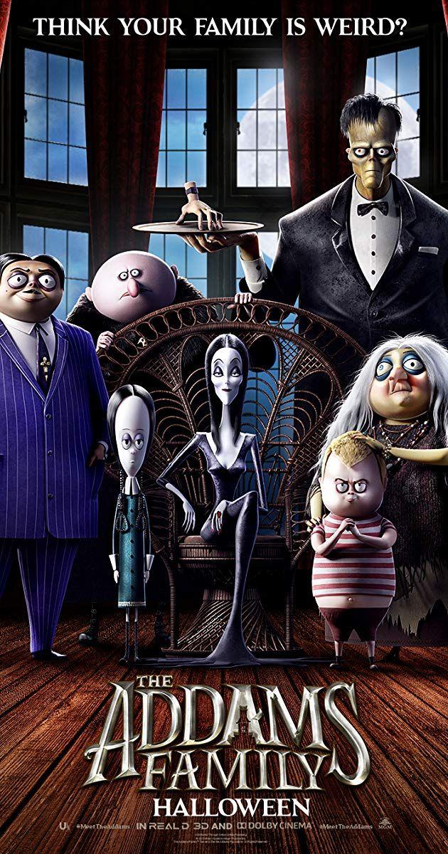 The Addams Family (2019) IMDb Addams family cartoon