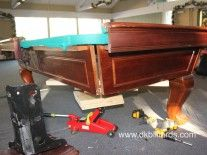 How NOT to Move Your Pool Table: Part 5