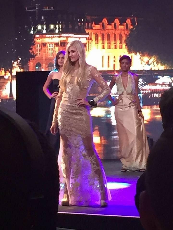 Iluska Nagy in her Este Creations designer dress!