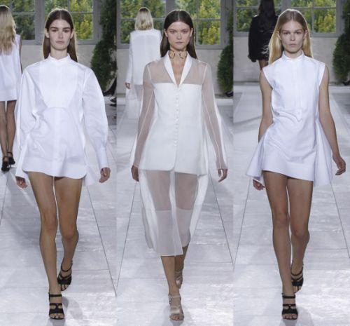 Платье рубашка от Balenciaga 2014