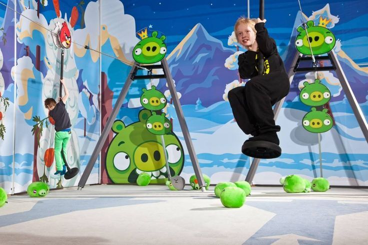 Angry Birds Activity Park- Saariselka.