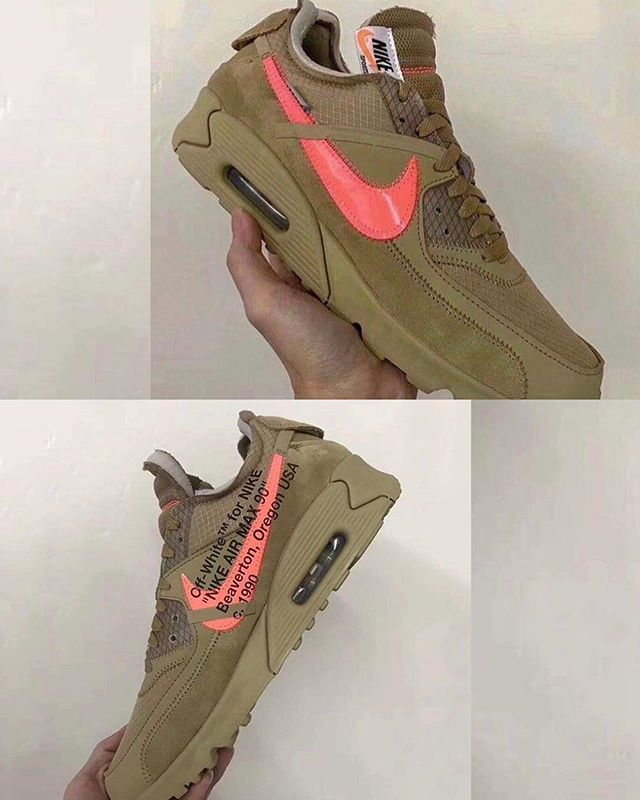 First look at the Off White x Nnike Air Max 90 Desert Ore