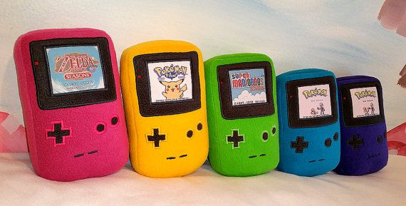 I want the pink one with pokemon yellow. Because that was my childhood