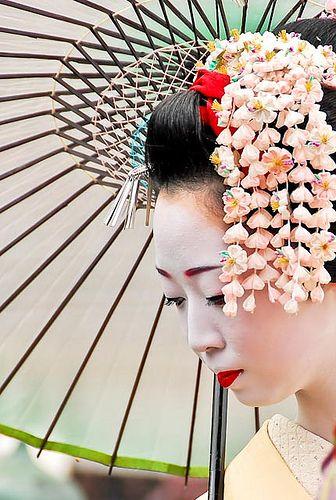 geisha kanzashi