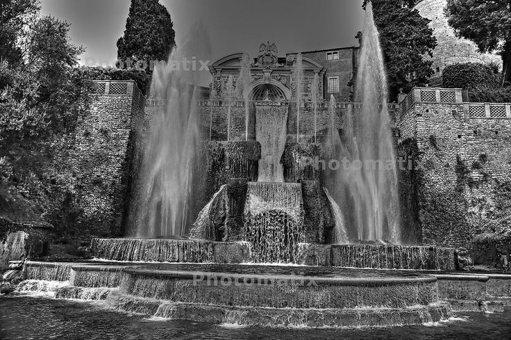 Giardini di Villa D'Este - Tivoli (RM)