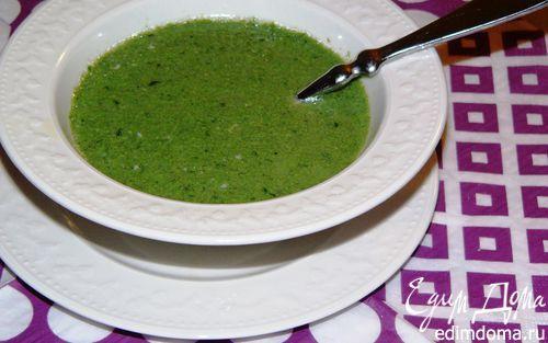 Суп из шпината | Кулинарные рецепты от «Едим дома!»