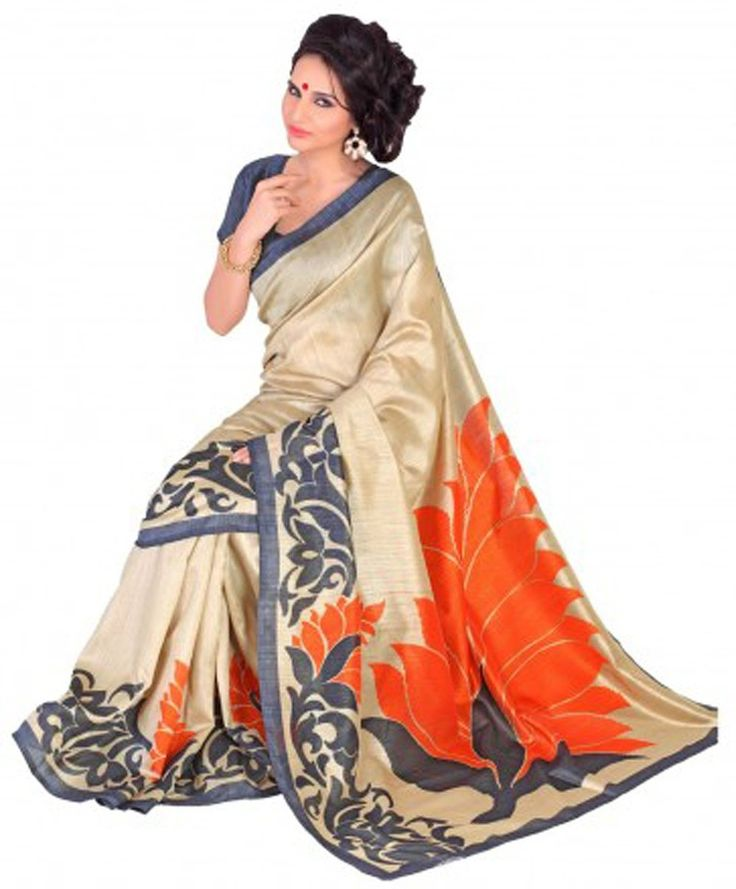 Samskruti Sarees Women Art Silk Printed Saree (SPAS-62,Beige): Amazon : Clothing & Accessories  http://www.amazon.in/gp/product/B00XGMCTNA/ref=as_li_tl?ie=UTF8&camp=3626&creative=24822&creativeASIN=B00XGMCTNA&linkCode=as2&tag=onlishopind05-21