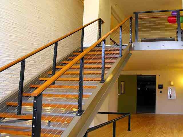 Ultra tec cable railing system commercial