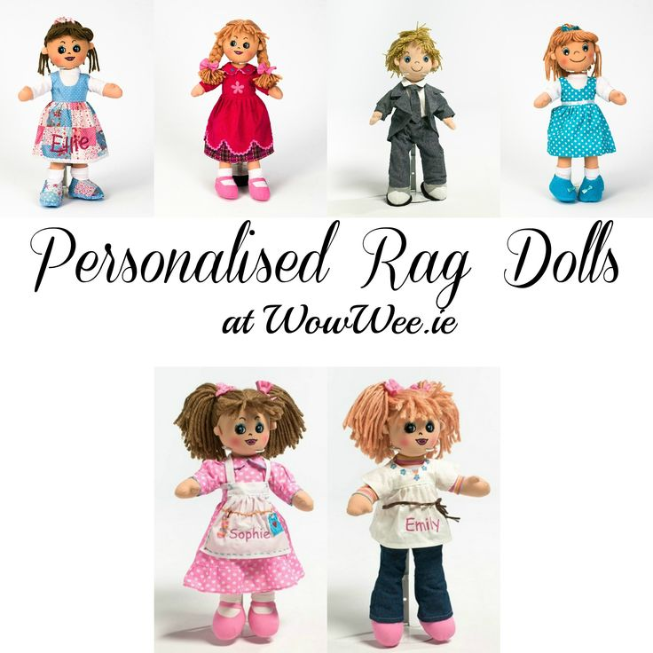 Personalised Rag Dolls at WowWee.ie  http://www.wowwee.ie/Personalised-Rag-Dolls-s/36.htm