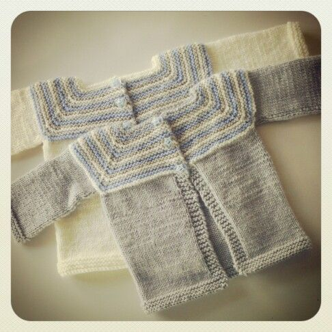 Cardigans for a baby boy