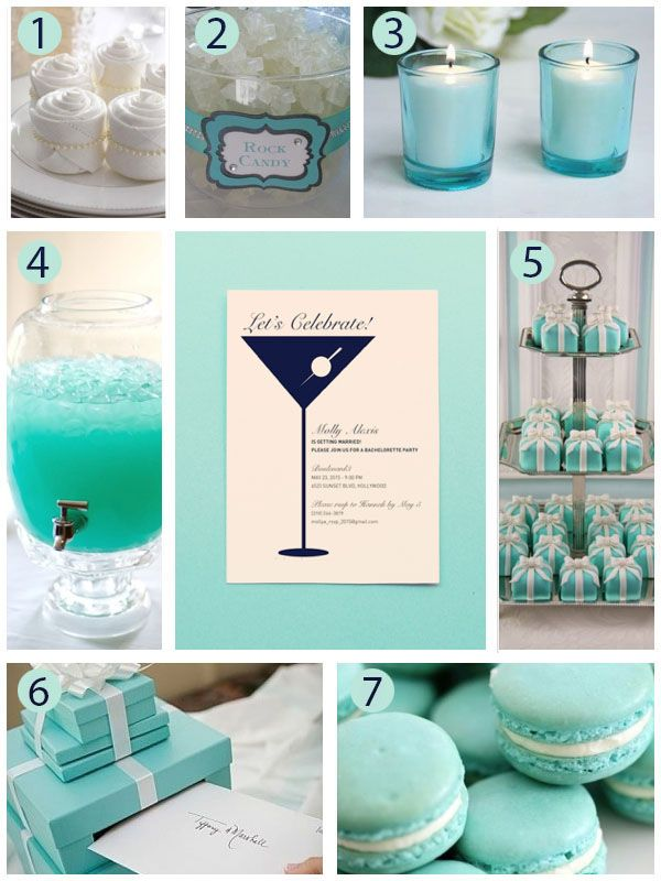 A Breakfast At Tiffany's Themed Bachelorette Party