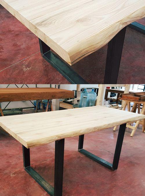 castagno tavolo rustico : Tavolo da pranzo in legno massello allungabile, un nuovo tavolo in ...