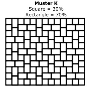 Paver Patterns | Muster K cobbles + more | MyPatioDesign.com
