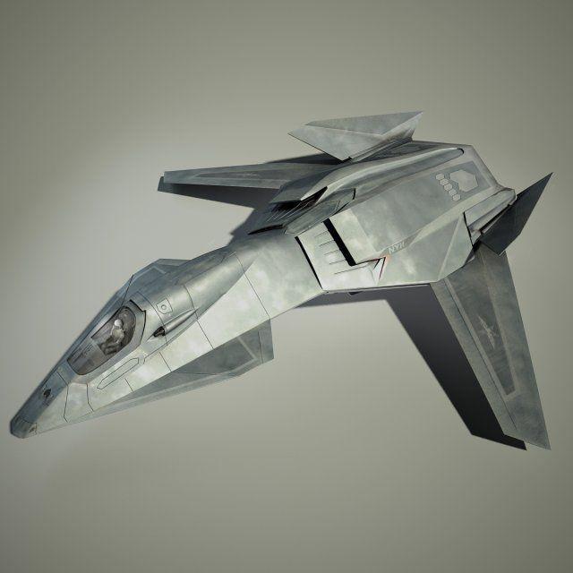 3D Model Stealth Talon c4d, obj, 3ds, fbx, ma, lwo 72513
