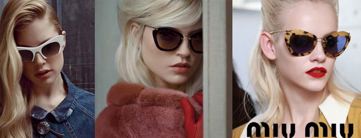 Miu Miu sunglasses collection