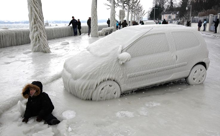 Deep freeze across Europe