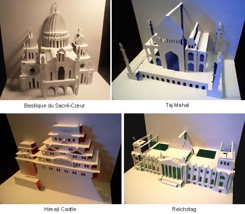 """""""In the Japanese paperfolding art of origami, cutting the paper is frowned upon. But in 1981, Masahiro Chatani, professor of Architecture at Tokyo Institute of Technology proved that papercut…"""