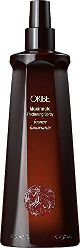 "(Product review for ORIBE Maximista Thickening Spray, 6.8 fl. oz.). This thickening spray from Oribe is an update of technology. It provides a protective coating while lifting and holding the fullest hair. Gives great volume and can be used on color treated hair.   	 		 			 				 					Famous Words of Inspiration...""The only thing worse than a man you can't..."