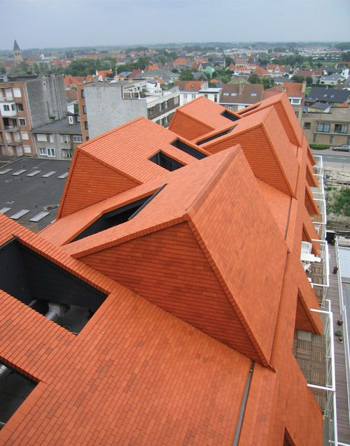 Dierendonck Blancke - Housing, Middelkerke 2007 | building_02 | Pinterest | Architecture, Bricks and Arch