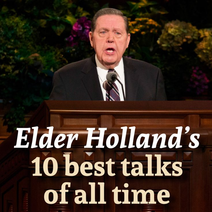 Elder Holland is known for his passionate, powerful talks. #LDS #LDSconf #twitterstake