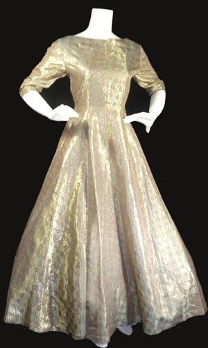 Hattie carnegie 1950 cocktail dress