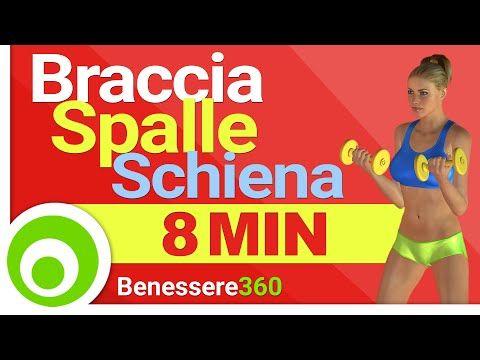 Esercizi per le Braccia, le Spalle e la Schiena Alta - YouTube