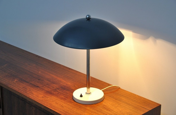 Wim Rietveld Gispen table lamp 1950 | Mass Modern Design