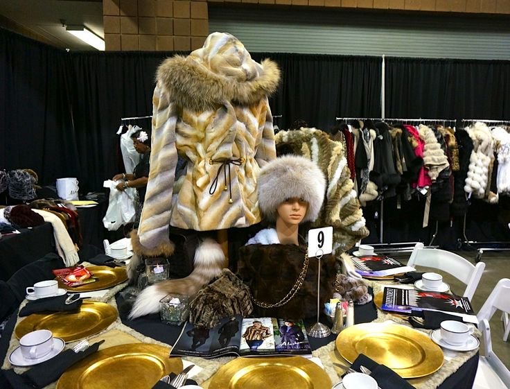 Alaskan Fur's Beautiful Tablescape - check out our original, fur placemats! 9/17/13   - #AlaskanFur #AFC #KansasCity #KC #Fashion #Fur #Charity #Fall #Winter #FallFashion #Jackets #Coats #Womenswear #Model #BTS #Designer #lookbook #beautiful #glamorous #glam #leather #cashmere #workit #Tablescapes2013 #Tablescapes #BOTAR #AmericanRoyal #TheAmericanRoyal